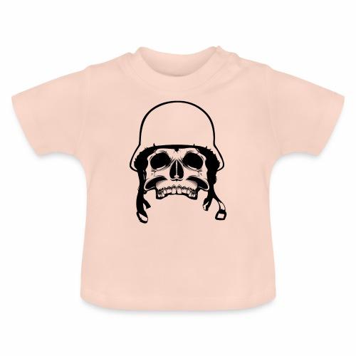 Soldier Helmet Skull 1c - Baby T-Shirt