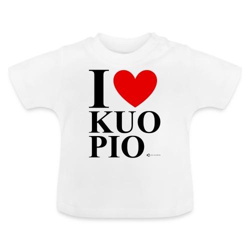 I LOVE KUOPIO ORIGINAL (musta) - Vauvan t-paita