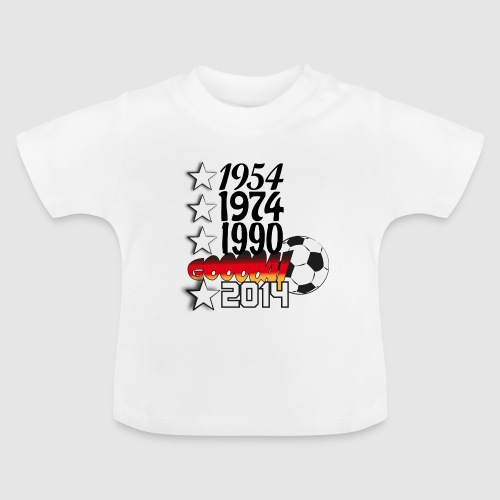 54_74_90_14_gooooal - Baby T-Shirt