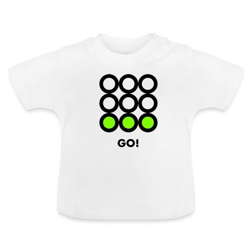 Go! Vedi anche i motivi Stop e Wait! - Maglietta per neonato