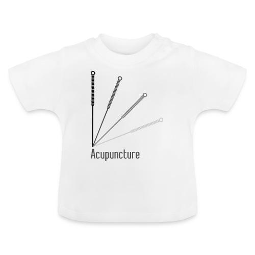 Acupuncture Eventail (logo noir) - T-shirt Bébé