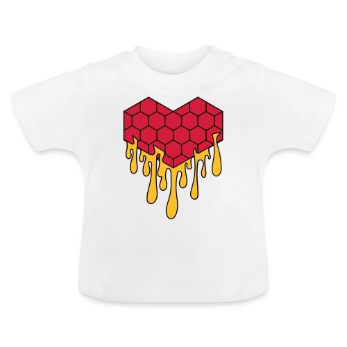 Honey heart cuore miele radeo - Maglietta per neonato
