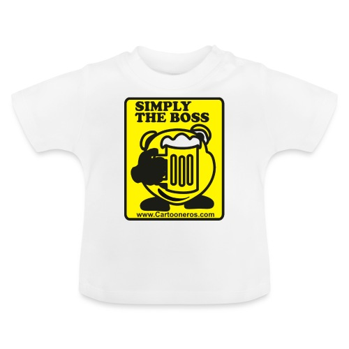 Simply the Boss - Baby T-Shirt