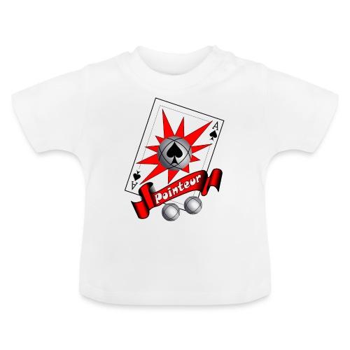 t shirt petanque as des pointeurs boules - T-shirt Bébé