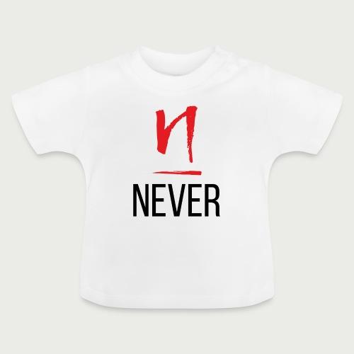 Never Give Up - Deundria Clark - Baby T-Shirt