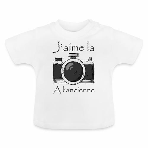 J'aime la Photo à L'ancienne - T-shirt Bébé