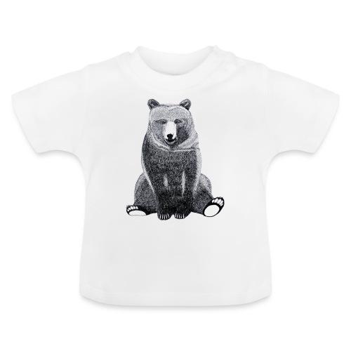 Bär Süß Bild Kinder Weihnachten Tiere - Baby T-Shirt