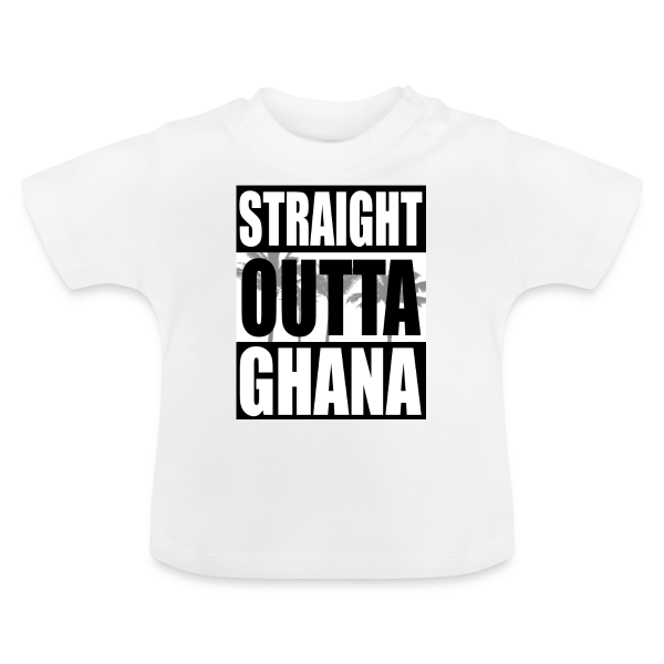 Straight Outta Ghana - Baby T-Shirt