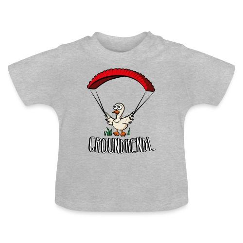 Groundhendl Paragliding Huhn - Baby T-Shirt