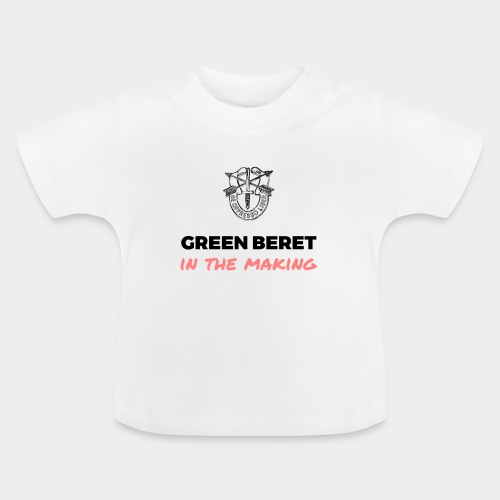 Green Beret in the Making - Baby T-Shirt