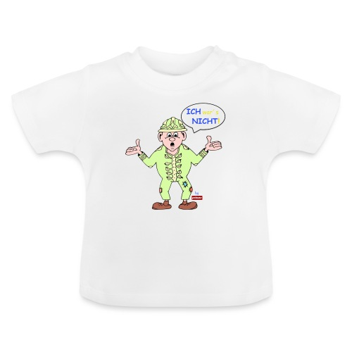patame Zwuckel Ich wars nicht! Blau - Baby T-Shirt