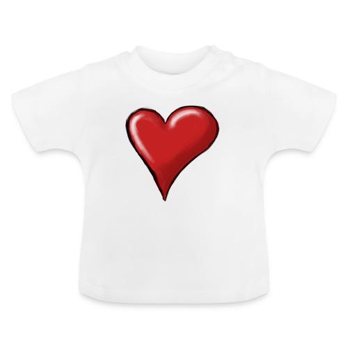 Love (coeur) - T-shirt Bébé