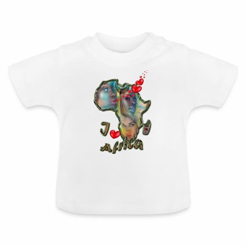 I love africa - Baby T-Shirt