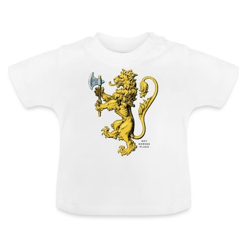 Den norske løve i gammel versjon - Baby-T-skjorte