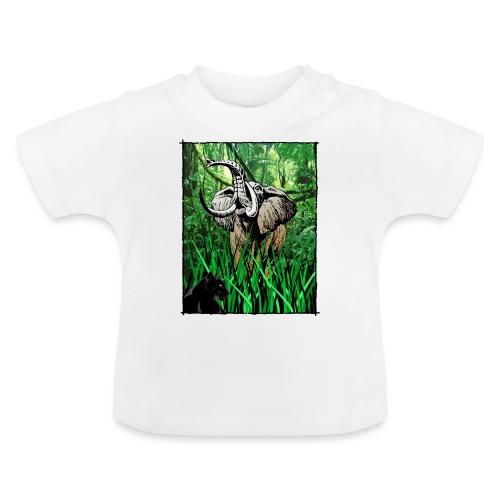 Waldelefant in Afrika - Baby T-Shirt