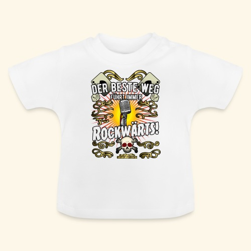 Rock Music Shirt ROCKWÄRTS - Baby T-Shirt