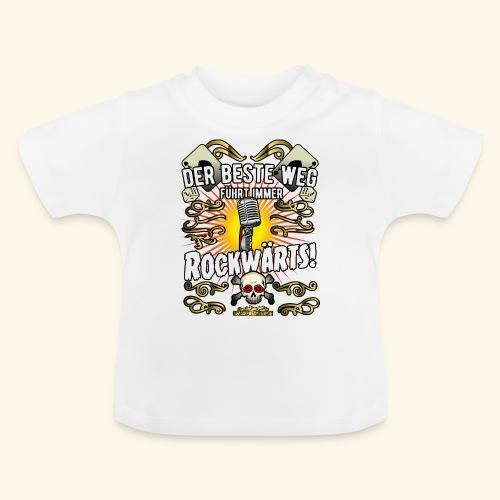 Rock Music Shirt ROCKWÄRTS - Baby T-Shirt
