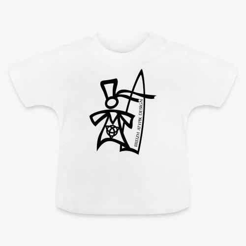 Surf Bigoud Black - T-shirt Bébé