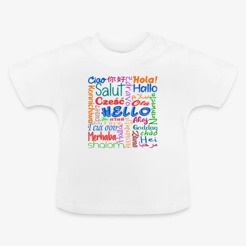 Hallo in mehreren Sprachen - Baby T-Shirt