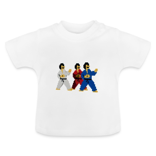 8 bit trip ninjas 1 - Baby T-Shirt