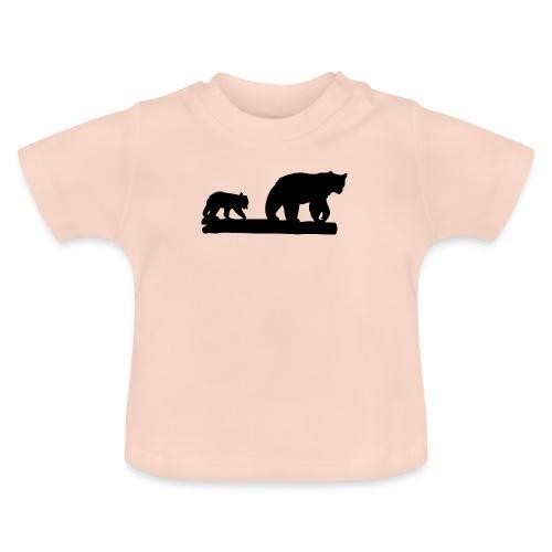 Bären Bär Grizzly Wildnis Natur Raubtier - Baby T-Shirt