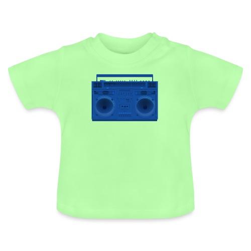 Bestes Stereo blau Design online - Baby T-Shirt