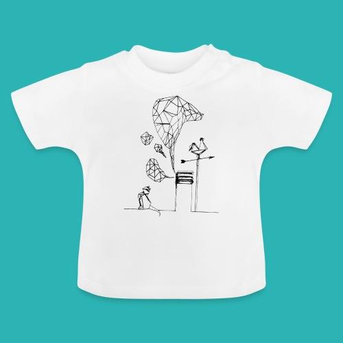 Carta_gatta-png - Maglietta per neonato