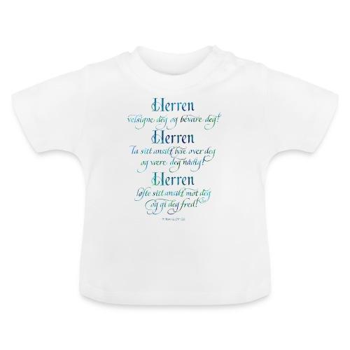 Herren velsigne deg og bevare deg - Baby-T-skjorte
