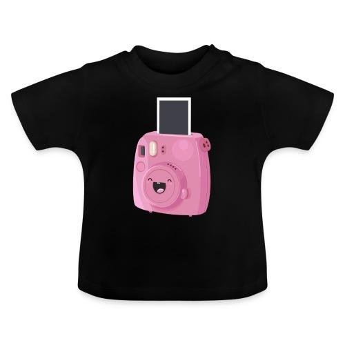 Appareil photo instantané rose - T-shirt Bébé