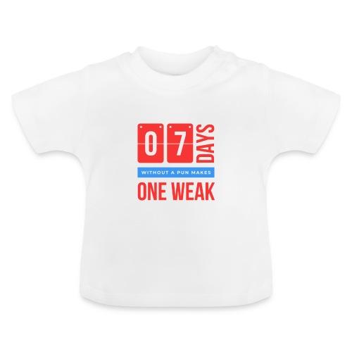 one week - Maglietta per neonato