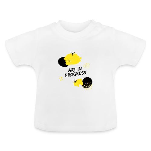 Art in Progress - Maglietta per neonato