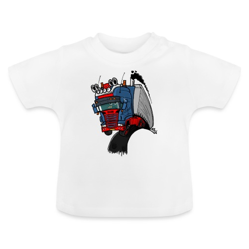 The flying skane man notext - Baby T-shirt