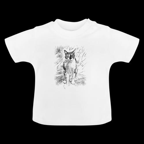 le chat prend la pose - T-shirt Bébé