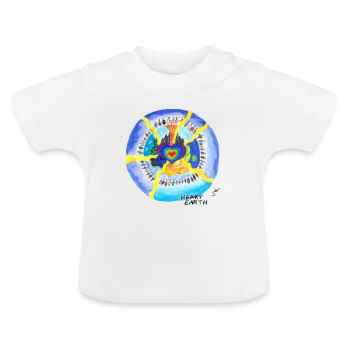 HEART EARTH - Baby T-Shirt