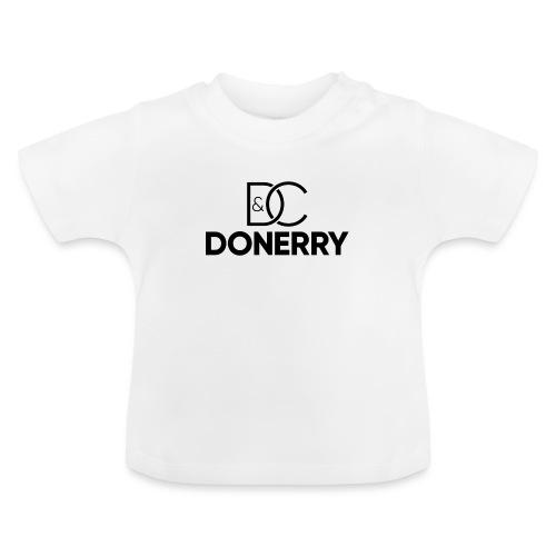 DONERRY Black Logo on White - Baby T-Shirt
