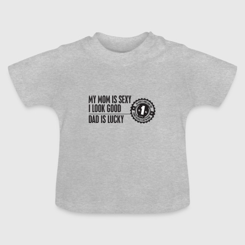momloves png - Baby T-shirt
