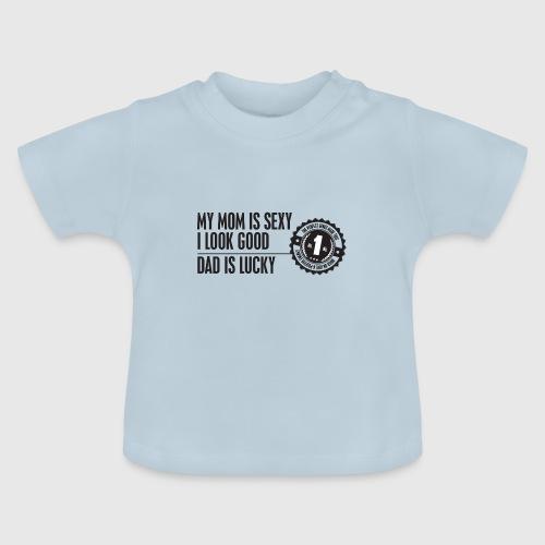 momloves png - Baby T-shirt