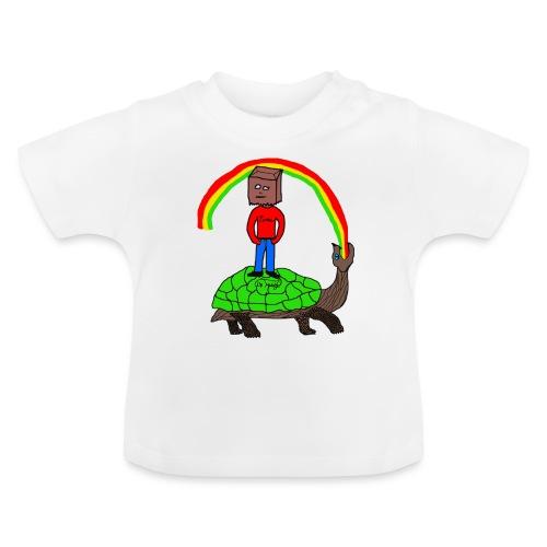 schildkröte Schildkröte Regenbogen - Baby T-Shirt