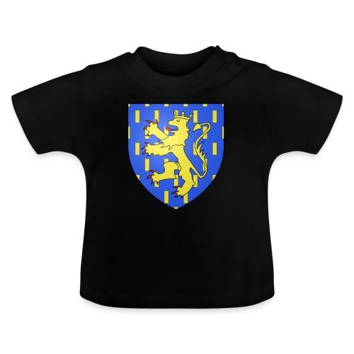 Blason de la Franche-Comté avec fond transparent - T-shirt Bébé