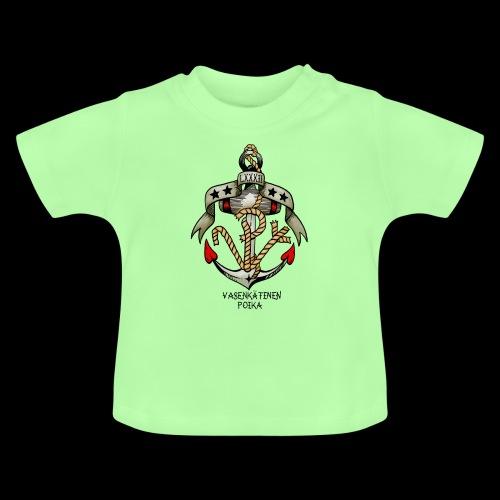 VP Ankkuri Väreillä - Vauvan t-paita