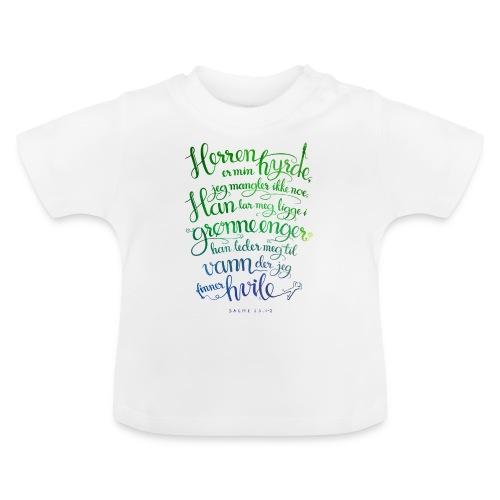 Herren er min hyrde - Baby-T-skjorte