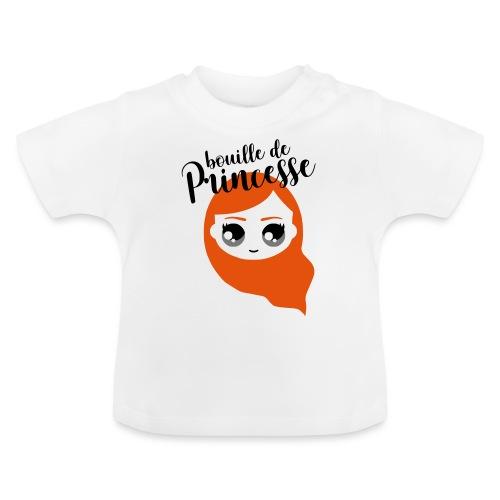 Bouille de princesse (couleurs personnalisables) - T-shirt Bébé