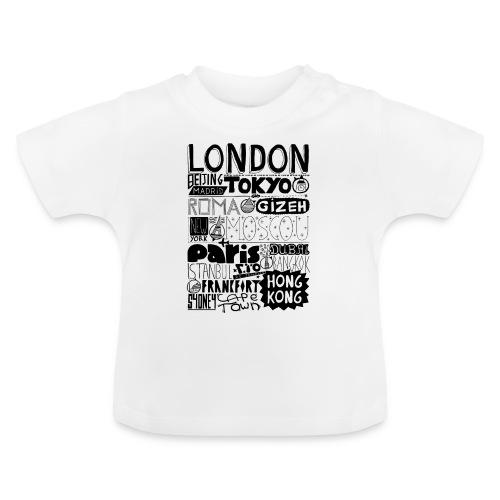 Villes du monde - T-shirt Bébé