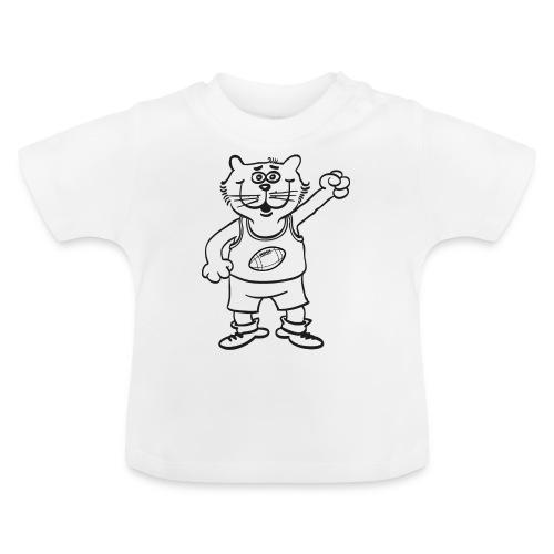 Football Katze Karter - Baby T-Shirt