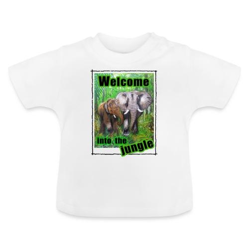 Willkommen im Dschungel - Baby T-Shirt