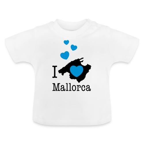 love Mallorca Balearen Spanien Ferieninsel Urlaub - Baby T-Shirt