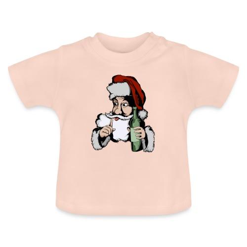 Père Noël Arrive - Santa is coming - T-shirt Bébé