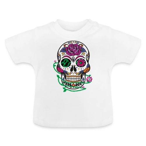 calavera 1 - Camiseta bebé
