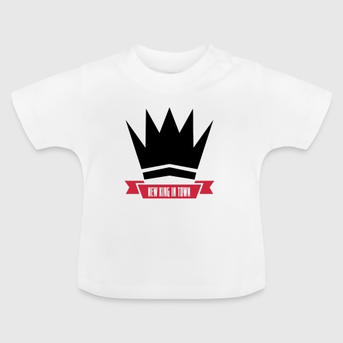 newking1 png - Baby T-shirt