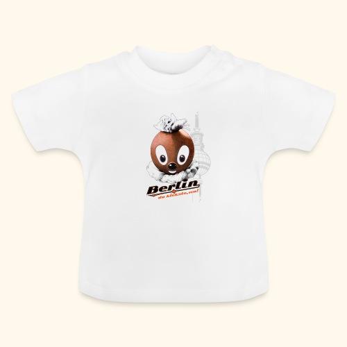 Pittiplatsch 3D Berlin auf hell - Baby T-Shirt